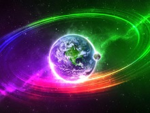 regenboog aarde