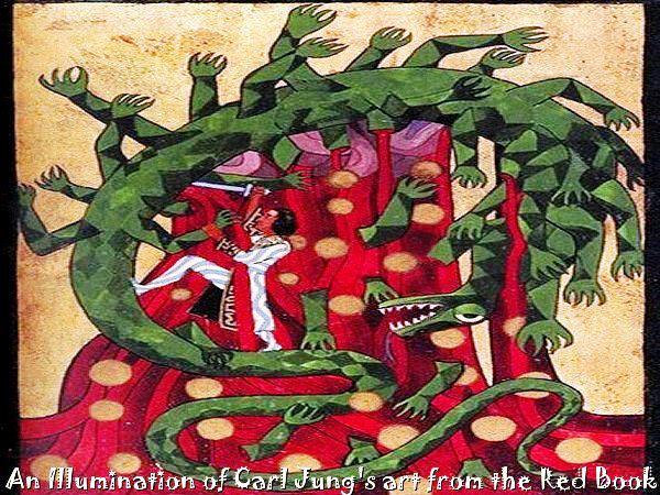 Carl Jung Depth Psychology: Carl Jung's Red Book Illumination #119