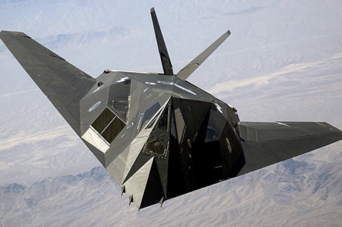 The F-117 was a total secret for over a decade