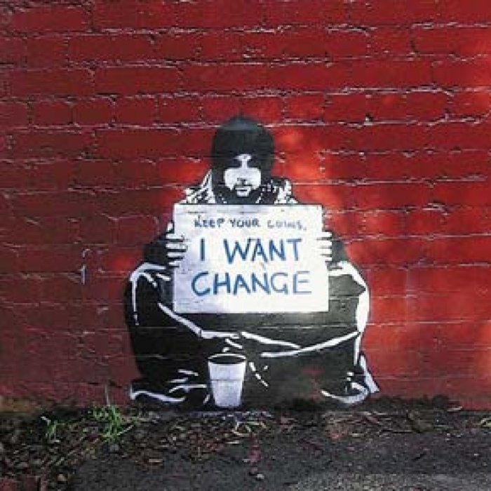 Good Company Apparel: #Banksy Street Art