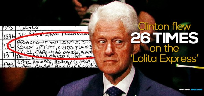 Epstein's Wikipedia Page Edited To Remove Ties To Bill Clinton plus MORE Slick-willy-bill-clinton-jeffrey-epstein-lolita-express-orgy-island-visited-26-times-pedophile-ring-pizzagate-q