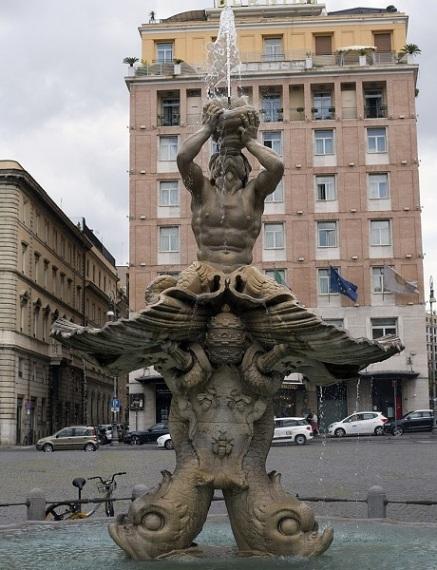 The Dark Secret of the Vatican Pagan Gods Fontana_del_tritonerome