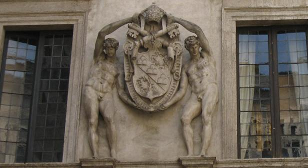 The Dark Secret of the Vatican Pagan Gods Julius-iii-coat-of-arms
