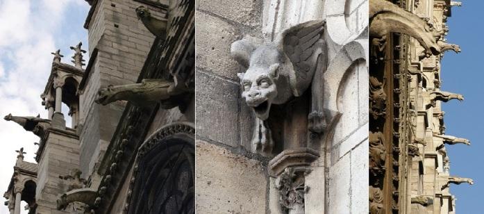 The Dark Secret of the Vatican Pagan Gods Notre-dame-de-paris-gargoyls-2