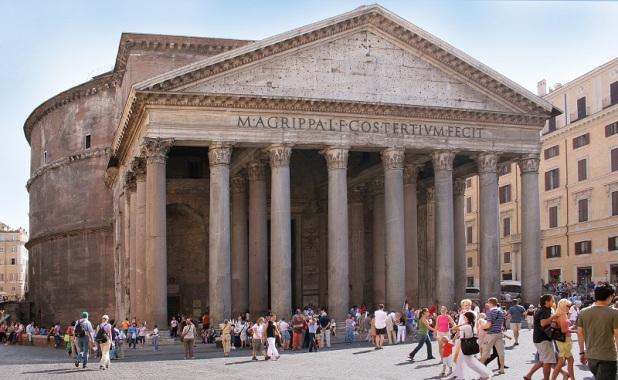 The Dark Secret of the Vatican Pagan Gods Rome_pantheon