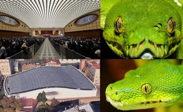 The Dark Secret of the Vatican Pagan Gods Snake_vatican_1