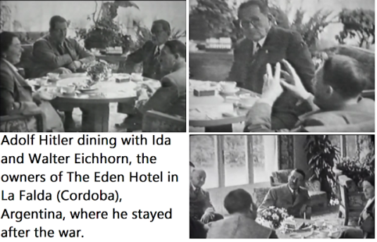 Based on FBI Documents & DNA Analysis, Hitler Escaped to Argentina Where He lived Out His Life Until Old Age Hitlerinargentina-theedenhotel