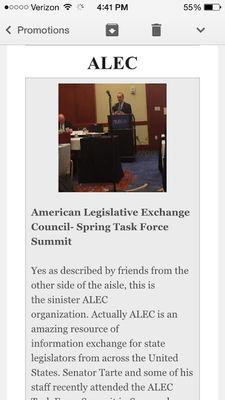 Corporate Lobbying Group ALEC Behind Mandatory Vaccine Agenda Jeff_2btarte_2bnewsletter