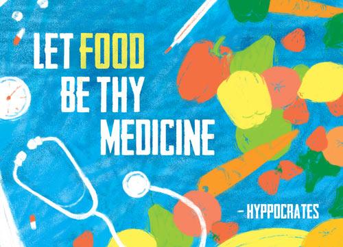 MEDICINE WHEEL: 'Food As Medicine', Return to Nature – By Rosanne Lindsay