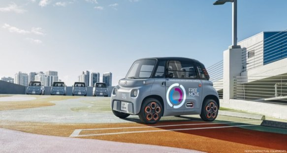 'Ami', This New Electric Car Can be Rented for Just $22 a Month Citroecc88n-ami-electric-13-889x475-1