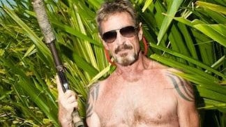 Bad-Ass John McAfee Warns Governments 'Are Deceiving You' About Virus Iuz